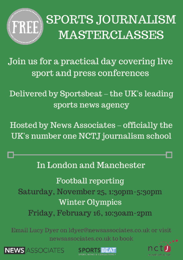 sports journalism masterclass_newsassoc_160218